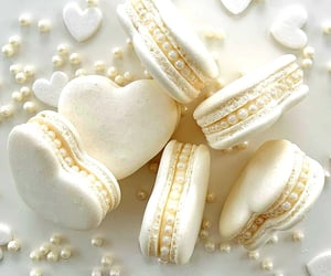 sweet, macarons, and delicious image