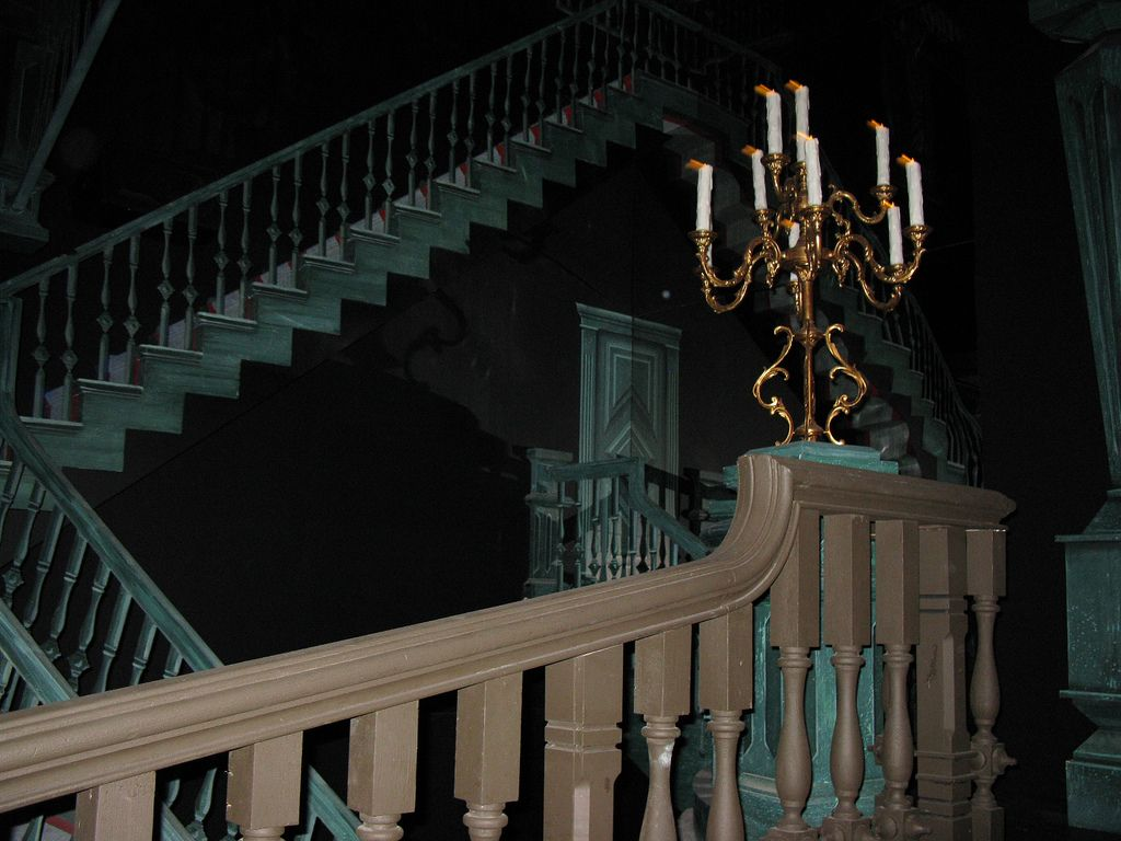 article, haunted house, and ghost image