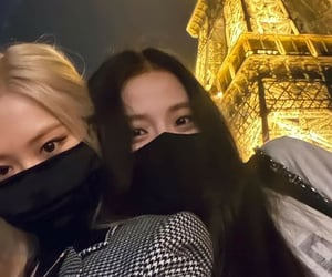 eiffel tower, kim, and rose image
