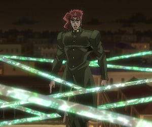 anime, kakyoin, and jojo's bizarre adventure image