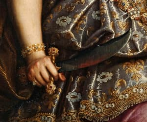 art, baroque, and fatale image
