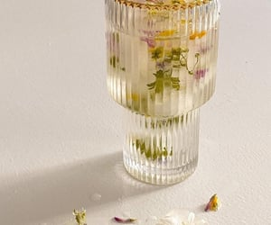 country life, drink, and flowers image