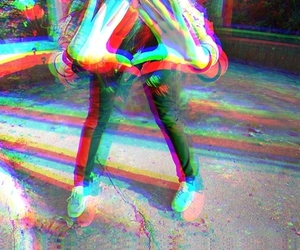 3d, girl, and hipster image