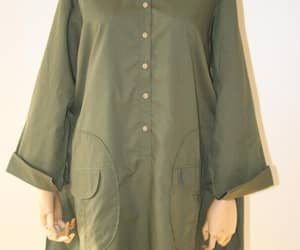 women top, blouse for women, and army green shirt image
