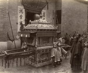 antique, qing dynasty, and b&w image