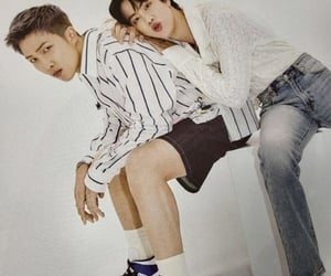 jin, rm, and kim seokjin image