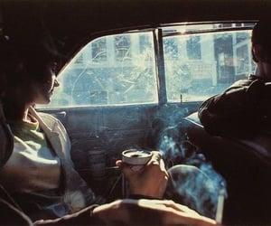 smoke, car, and beer image