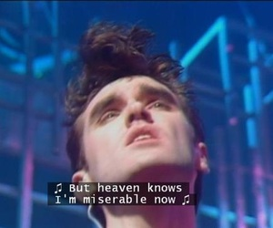 the smiths, morrissey, and quote image