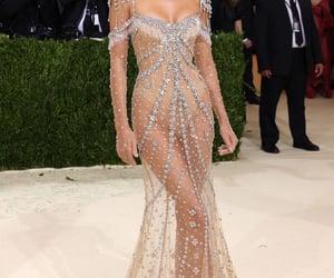 beauty, fancy, and long dress image