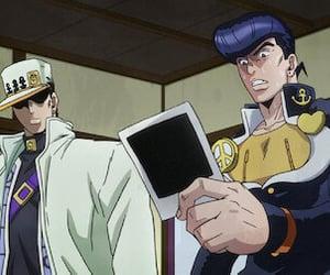 anime, jjba, and josuke image