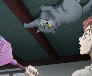 anime, cat, and jjba image