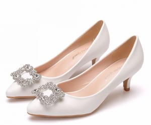 elegant, rhinestone, and stiletto heels image
