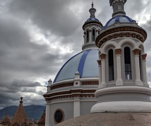 architecture, ecuador, and sky image