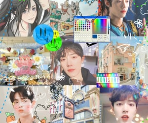 chinese, xiao zhan, and psd moodboard image