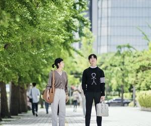 park jinyoung, kim goeun, and 진영 image