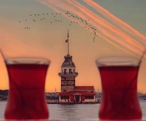 beautiful, istanbul, and tea image