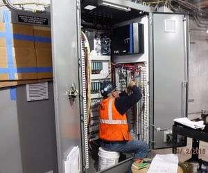 plc, robotics, and scada image