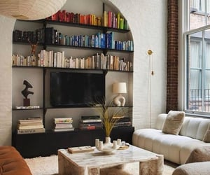 living room, architecture, and house image