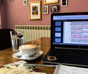 bar, computer, and study image
