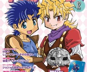 anime, magazine, and jjba image