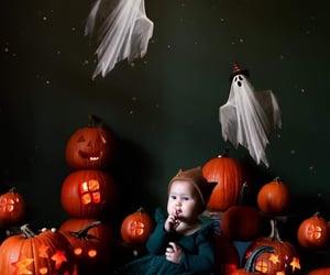 baby, feliz, and Halloween image