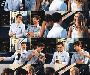 blake lively, nate archibald, and chuck bass image
