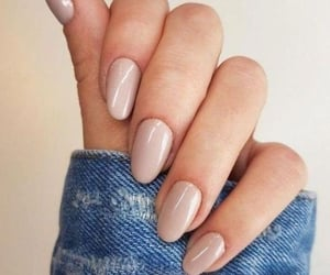 nails, Nude, and fashion image