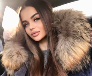 beauty, brown, and fur image