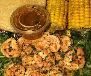 broccoli, seafood, and butter image