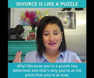 divorce, divorce questions, and video image