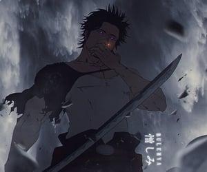 anime, black clover, and yami image