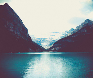 mountains, blue, and nature image