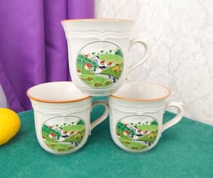 coffee cups, etsy, and set of 3 image