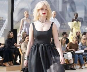 Alexander McQueen, baroque, and crystals image