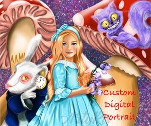 дети, цветы, and мультфильм image