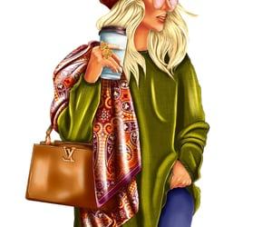 осень, стиль, and мода image