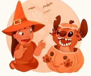 disney, Halloween, and orange image