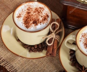 breakfast, cafe, and coffee beans image