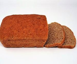 bread, vegetarian, and food image