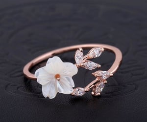 flowers and ring image