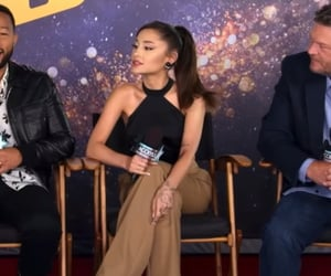 the voice and ariana grande image