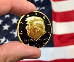 donald trump and donald trump coins image