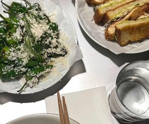 dinner, salad, and food image