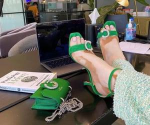 fashion, green, and harlow image