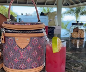 cocktail and Louis Vuitton image