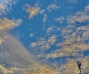 angel, fall, and sky image
