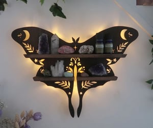 alternative, crystals, and decor image
