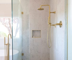 bathroom, classy, and home image