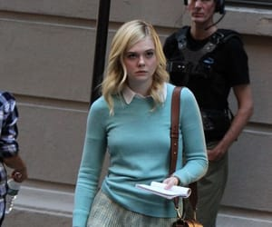 Elle Fanning, a rainy day in new york, and the great image