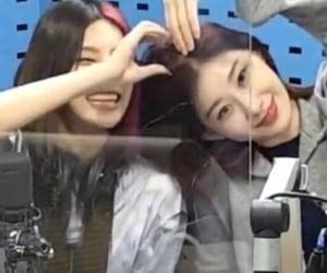 itzy, yeji, and chaeryeong image